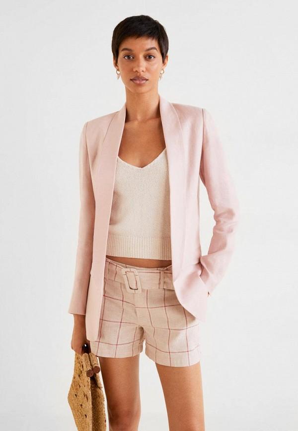 Фото - женский жакет Mango розового цвета
