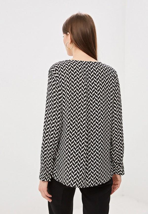 Фото 3 - женскую блузку Mango черного цвета