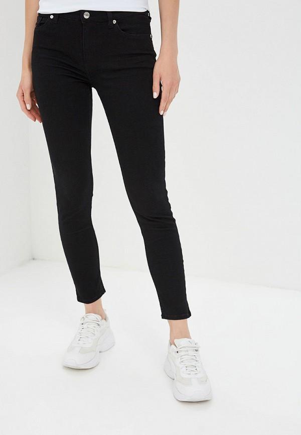 женские джинсы mango, черные