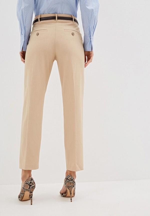 Фото 3 - женские брюки Mango бежевого цвета