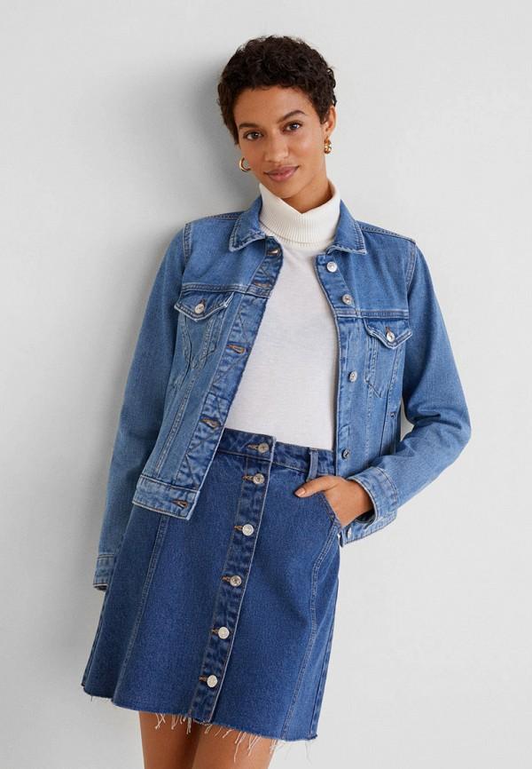 Куртка джинсовая Mango Mango MA002EWFJFX8