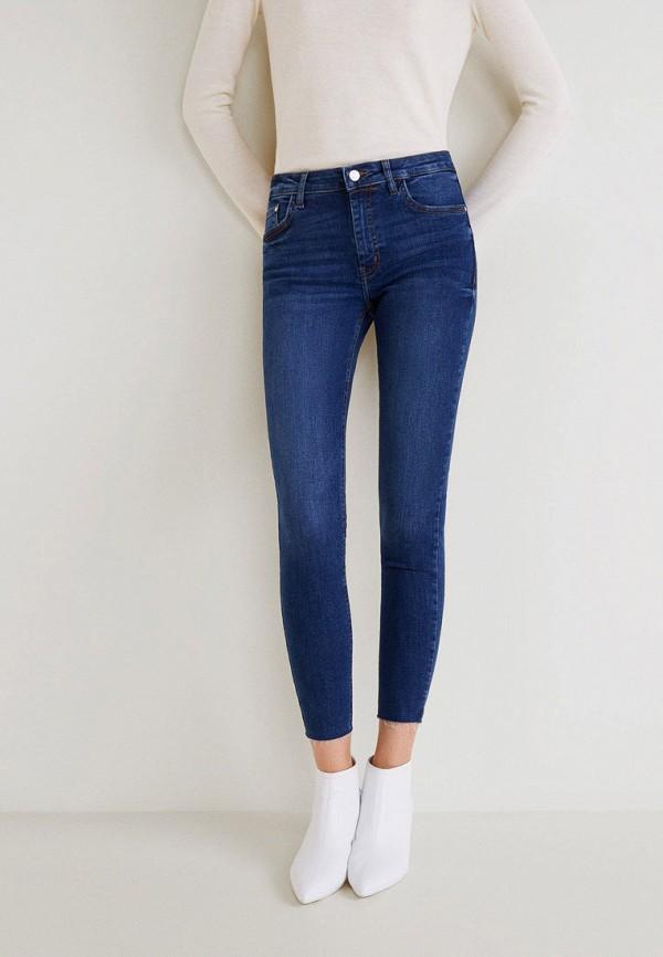 женские джинсы mango, синие