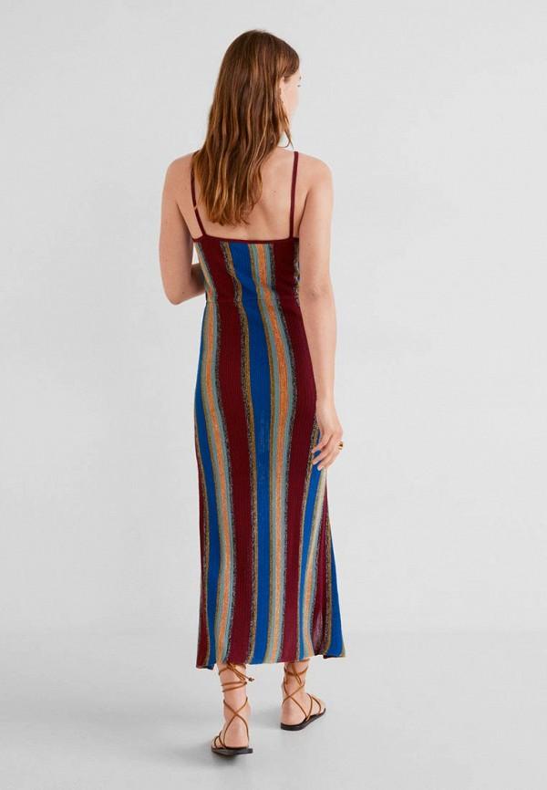 Фото 3 - женское платье Mango разноцветного цвета