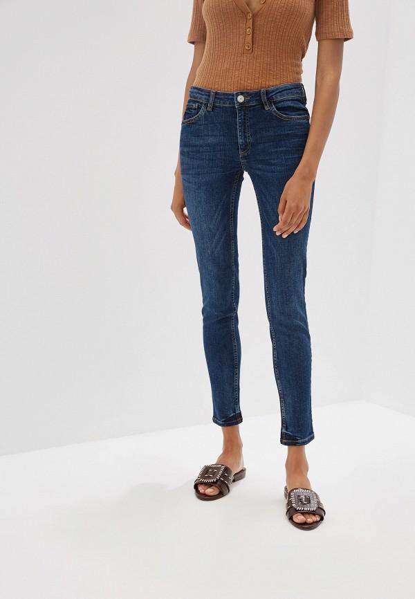 Купить женские джинсы Mango синего цвета