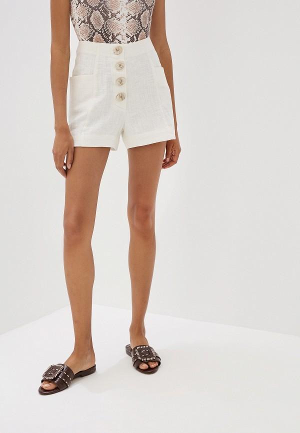 Купить женские шорты Mango белого цвета