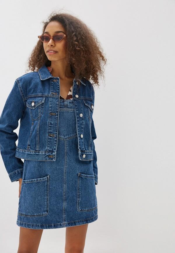 Куртка джинсовая Mango Mango MA002EWFMPK1