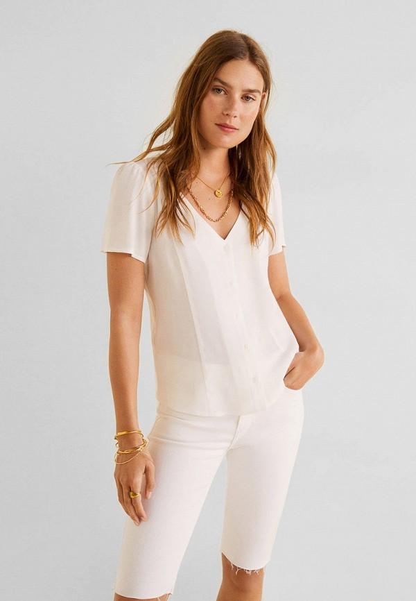 Купить женскую блузку Mango белого цвета