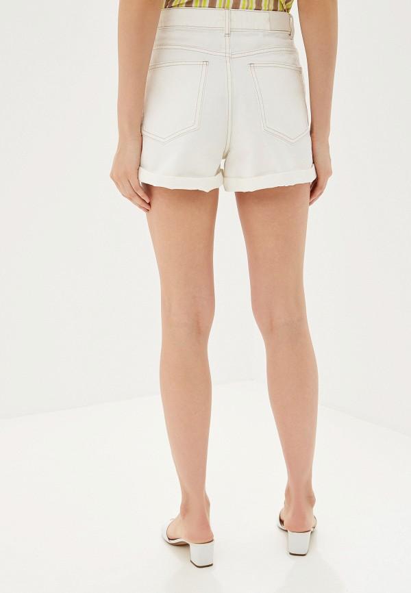 Фото 3 - Шорты джинсовые Mango белого цвета