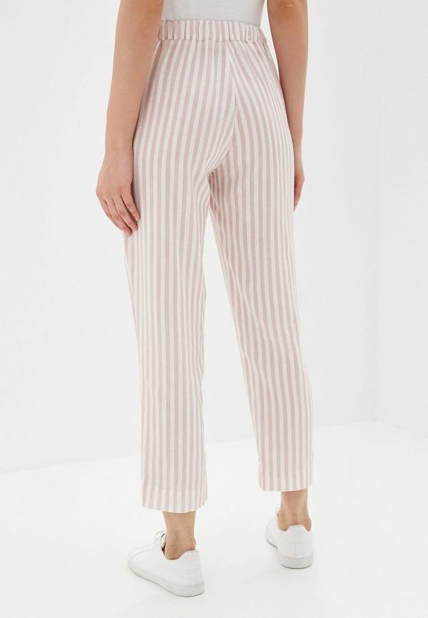 Фото 3 - женские брюки Mango розового цвета