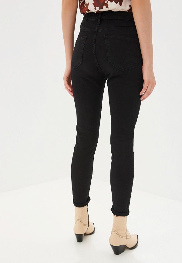 Фото 3 - женские джинсы Mango черного цвета