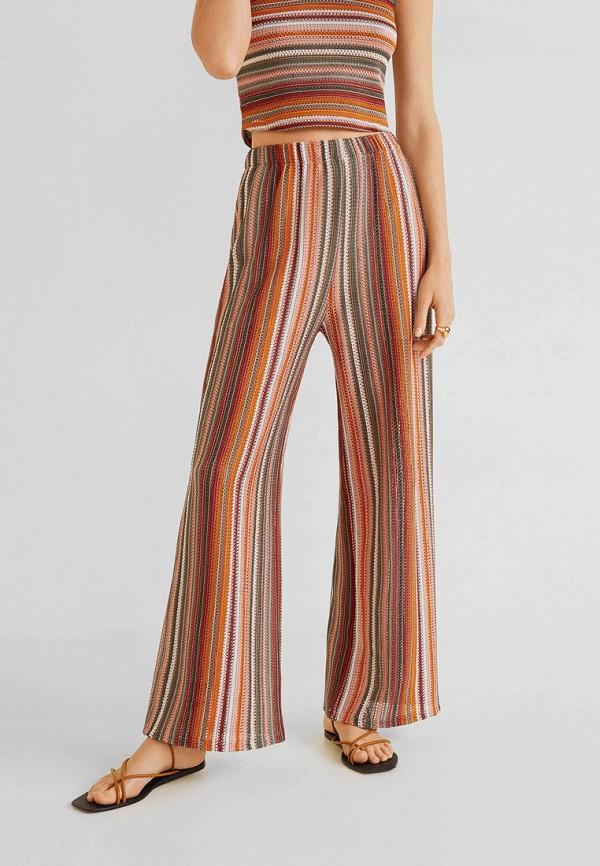 Фото - женские брюки Mango разноцветного цвета
