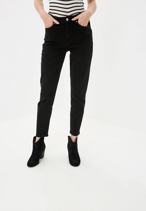 Купить женские джинсы Mango черного цвета