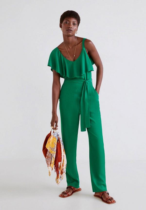 Комбинезон  - зеленый цвет