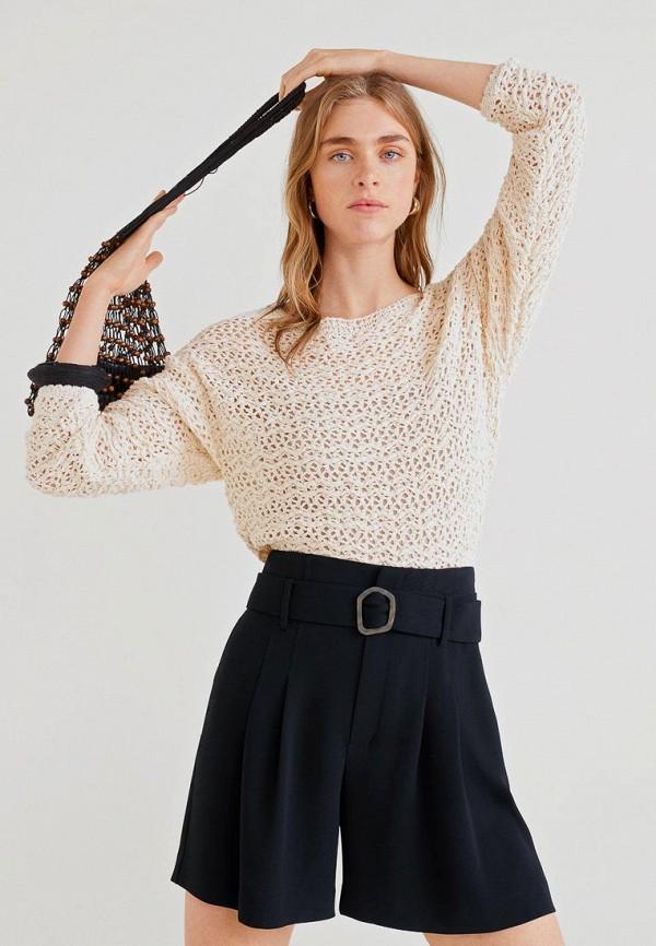 Фото - Женские шорты Mango черного цвета