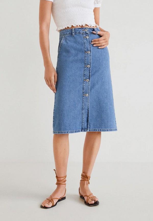 купить Юбка джинсовая Mango Mango MA002EWFWMK9 дешево