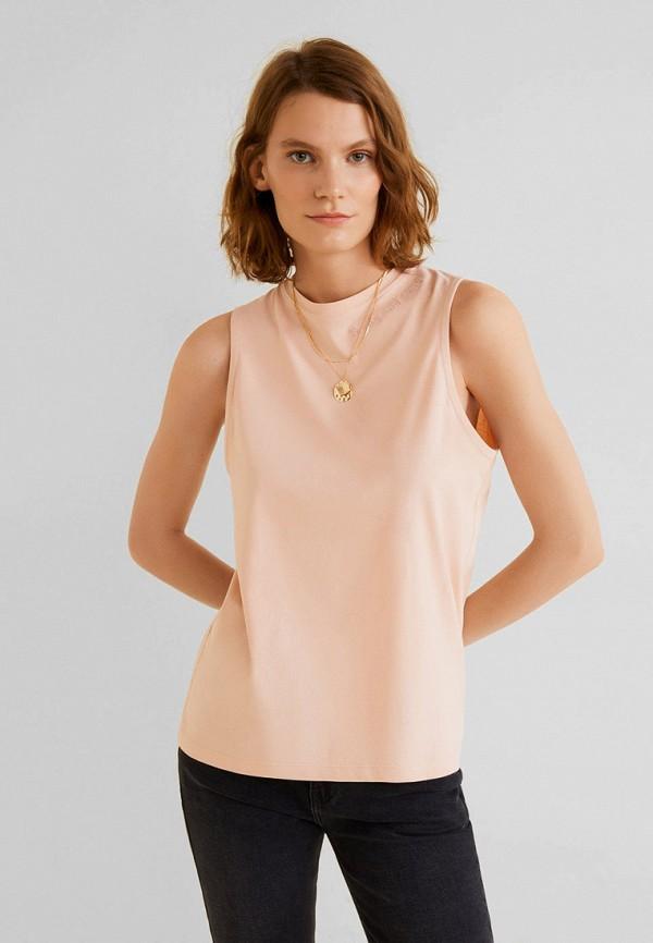 Фото - Женский топ Mango розового цвета