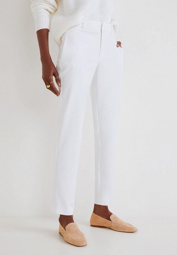 Фото - женские брюки Mango белого цвета