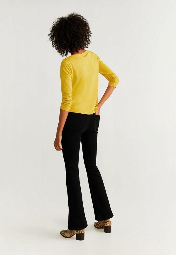 Фото 3 - Лонгслив Mango желтого цвета