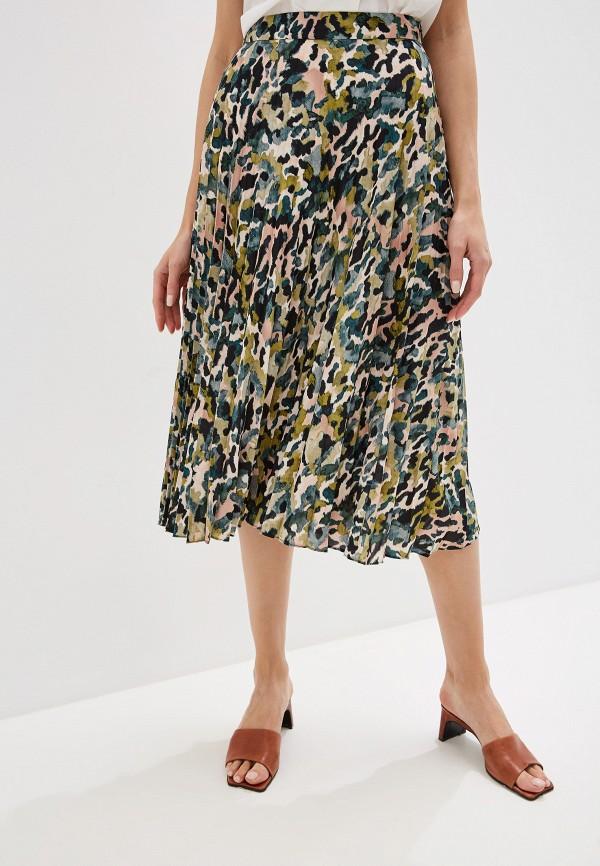 женская юбка mango, разноцветная