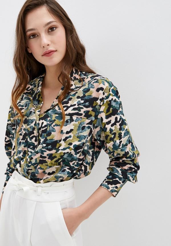 женская блузка mango, разноцветная