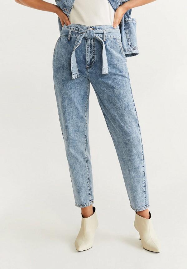 женские джинсы mango, голубые