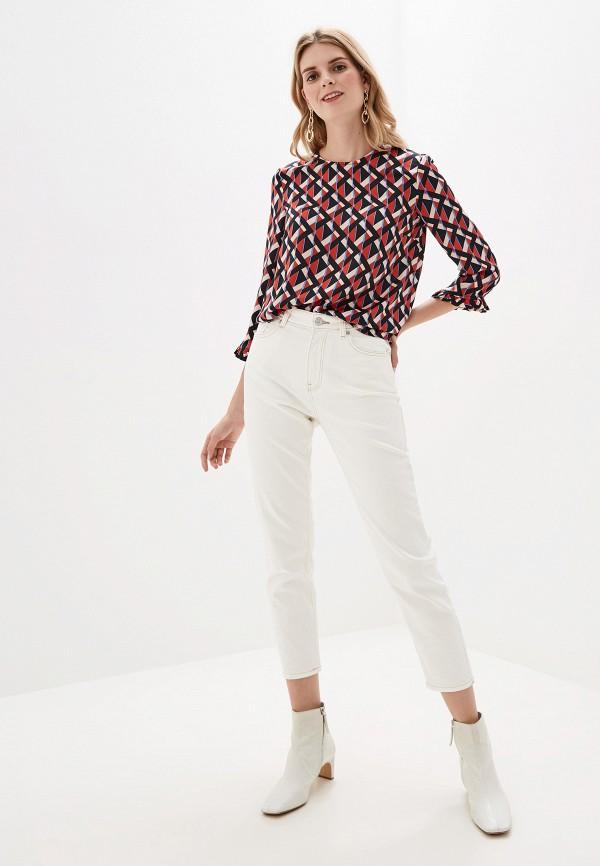 Фото 2 - женскую блузку Mango разноцветного цвета