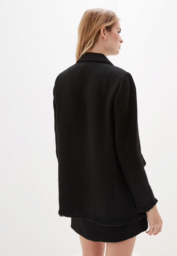 Фото 3 - женский жакет Mango черного цвета
