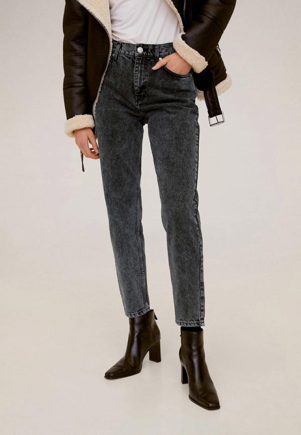 женские джинсы mango, серые
