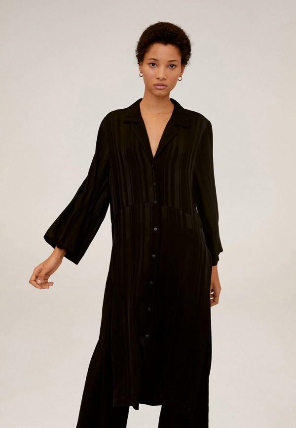 женское повседневные платье mango, черное