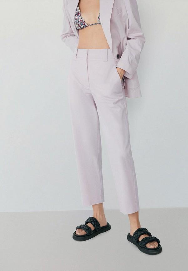 женские брюки mango