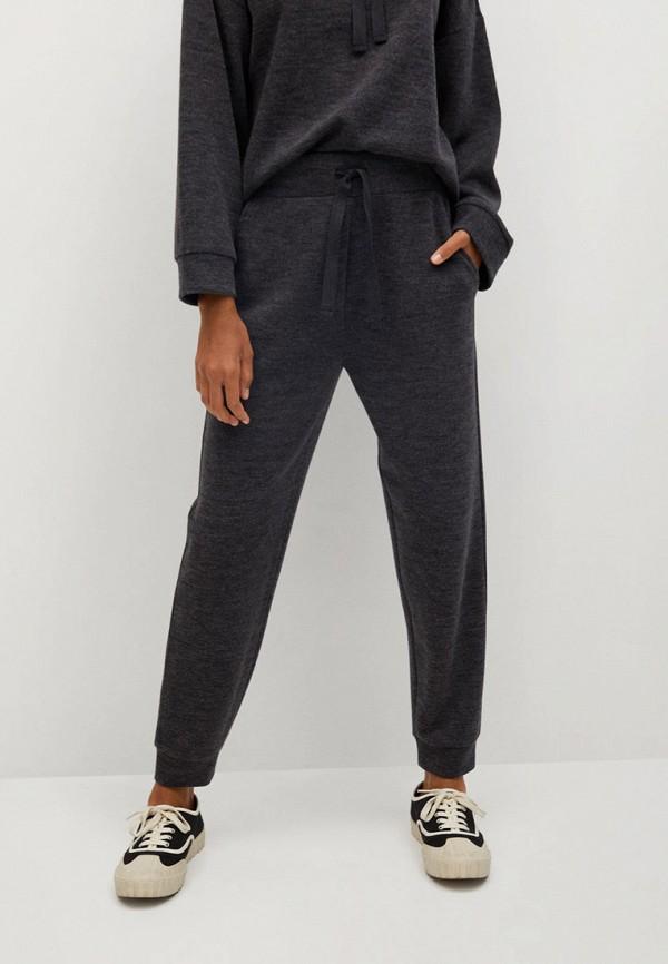 женские брюки mango, серые