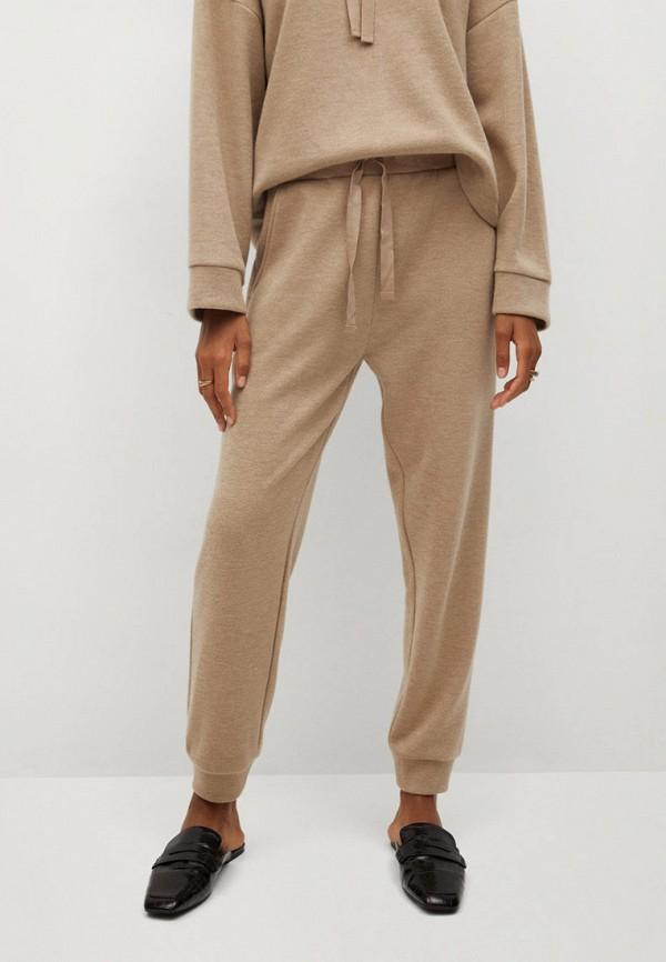 женские брюки mango, бежевые