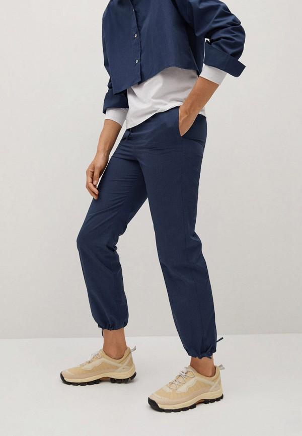 женские брюки mango, синие