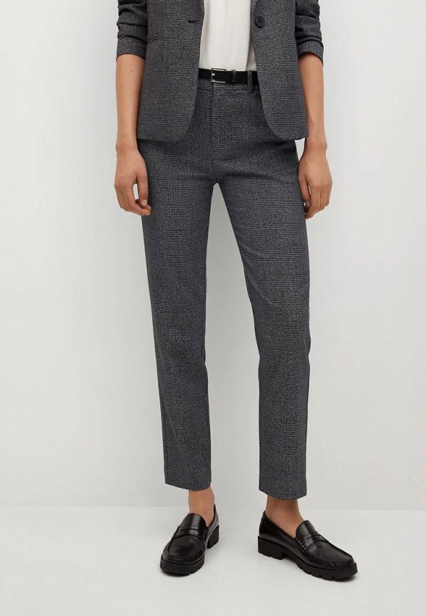 женские классические брюки mango, серые