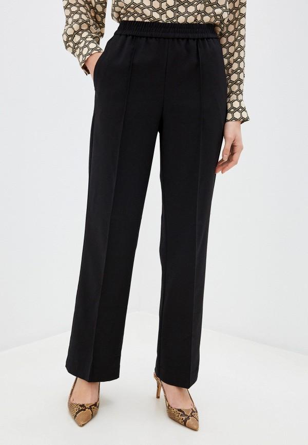женские брюки mango, черные