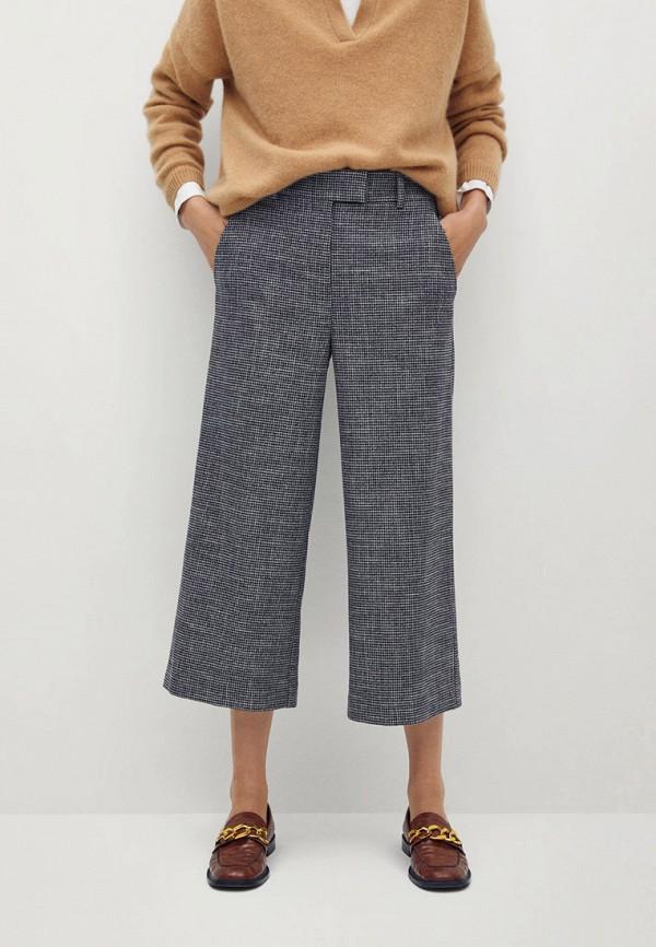 женские повседневные брюки mango, синие