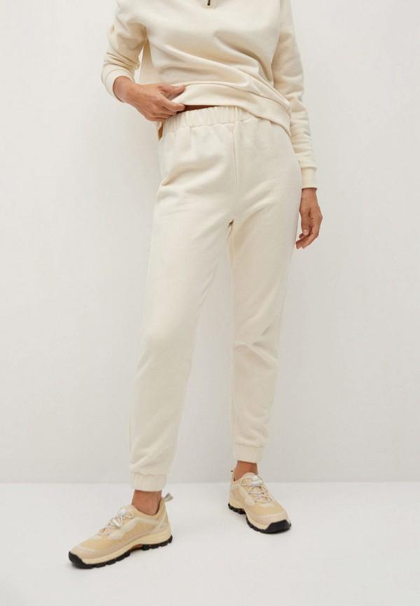 женские спортивные брюки mango, белые