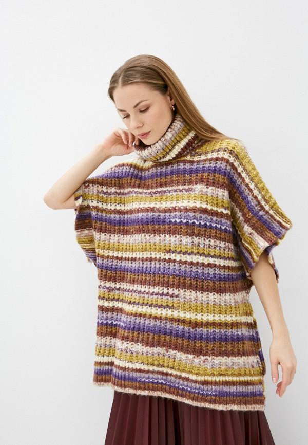 женский свитер mango, разноцветный
