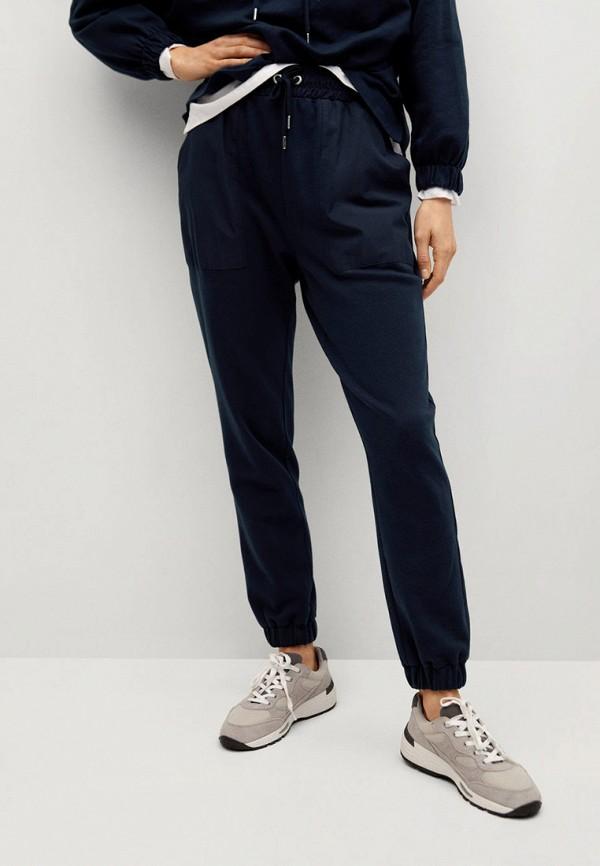 женские спортивные брюки mango, синие
