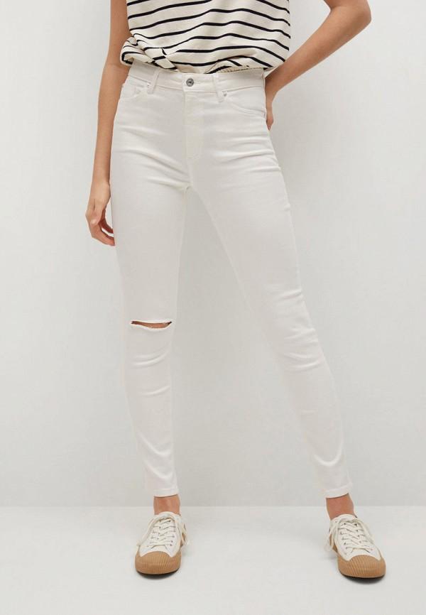 женские джинсы скинни mango, белые