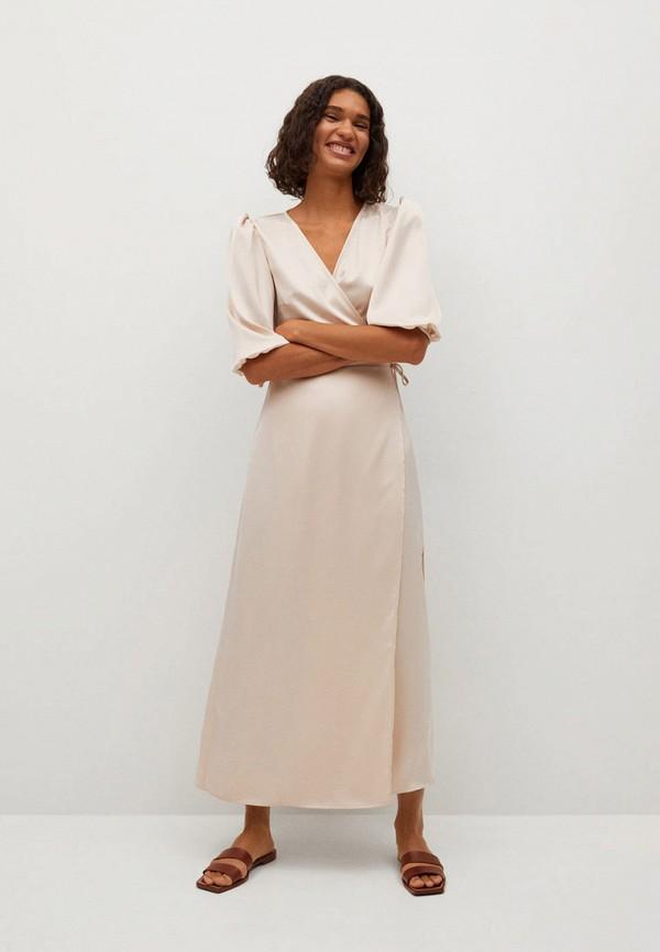 женское повседневные платье mango, розовое