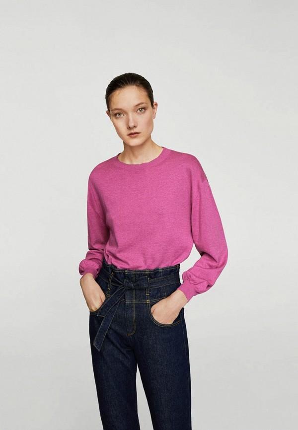 Фото - женский джемпер Mango розового цвета