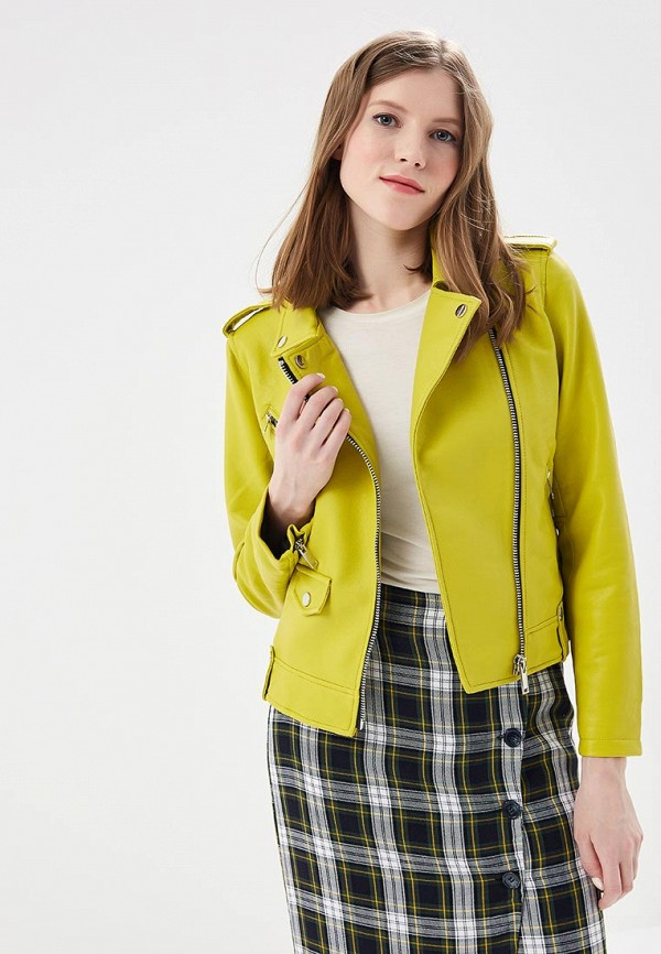 Куртка кожаная Mango Mango MA002EWZZI78 куртки mango кожаная куртка nash2