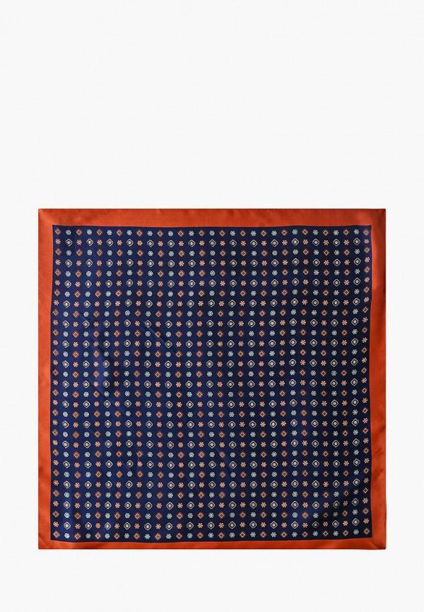 женский платок mango, синий