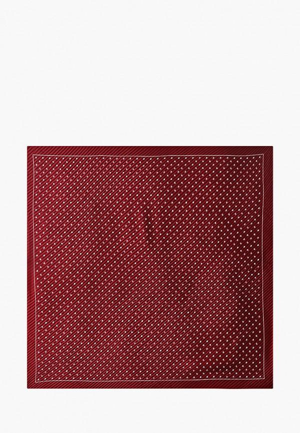 женский платок mango, бордовый