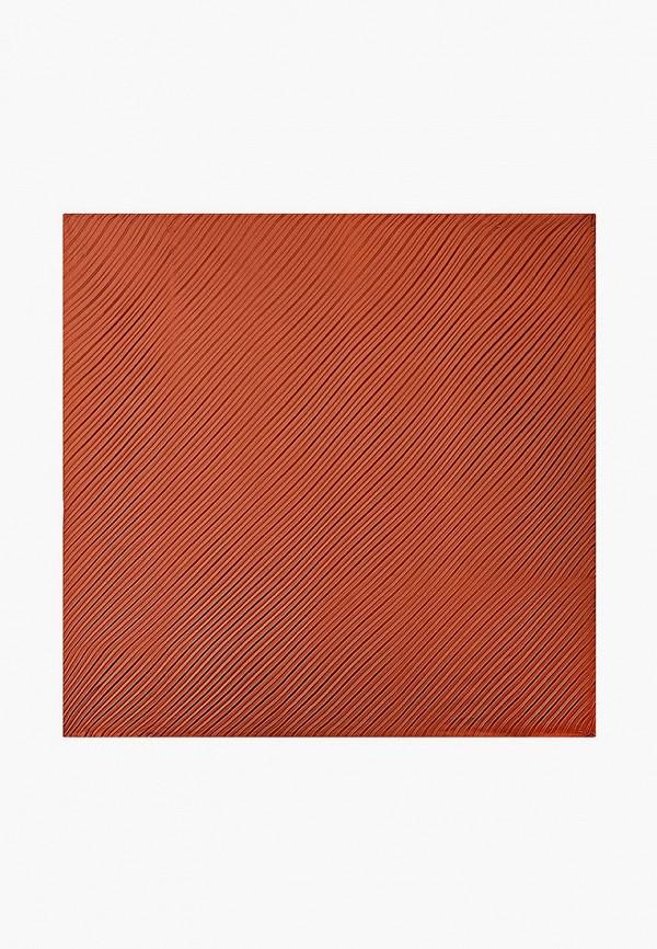 женский платок mango, коричневый
