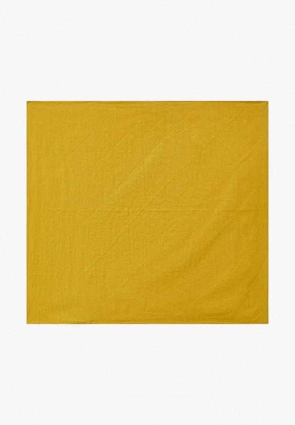 женский платок mango, зеленый