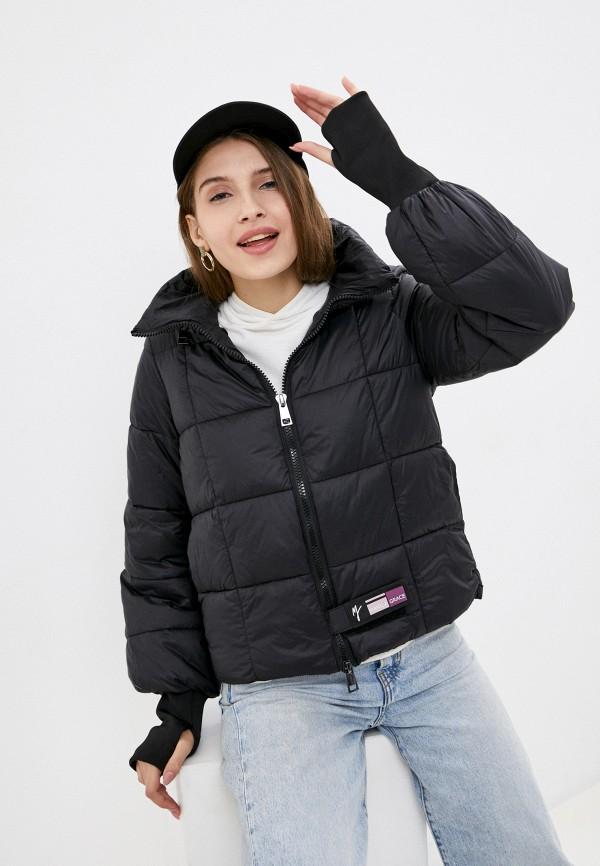 женская куртка manila grace, черная