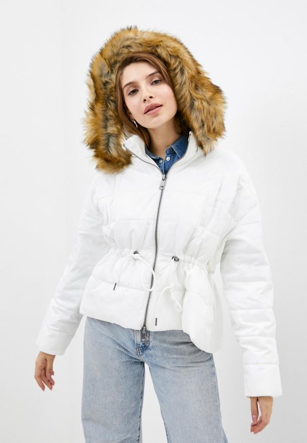 женская куртка manila grace, белая