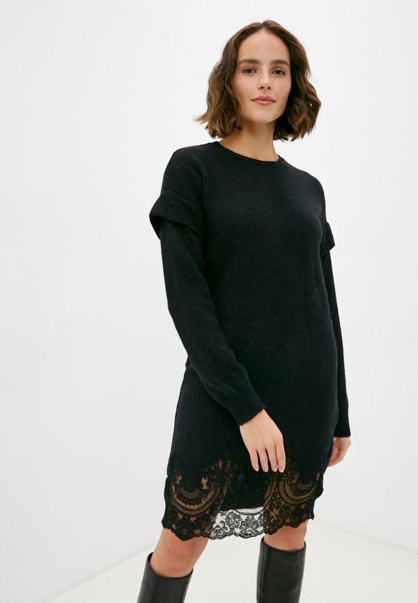 женское платье manila grace, черное